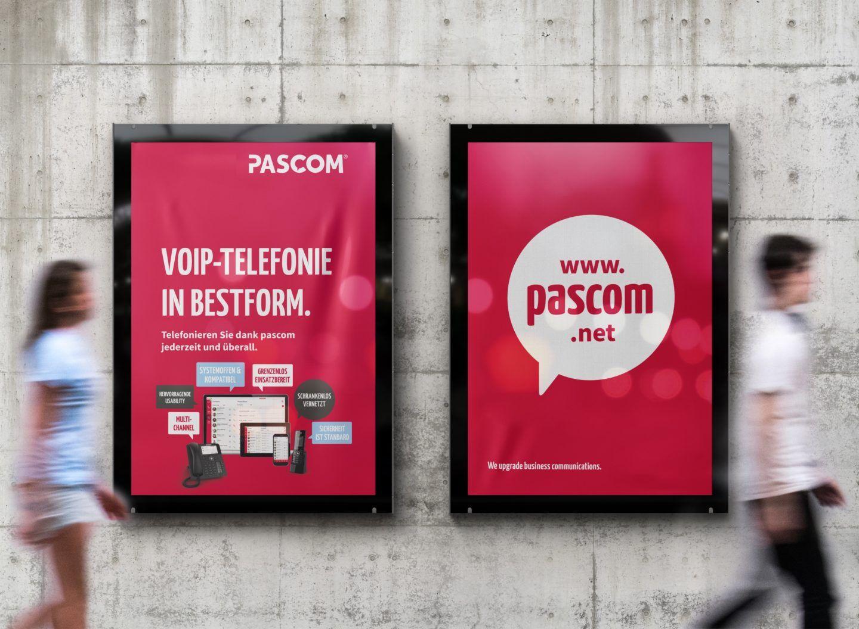 2 Plakate Pascom