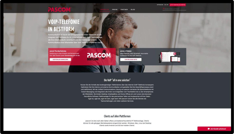 Pascom Website