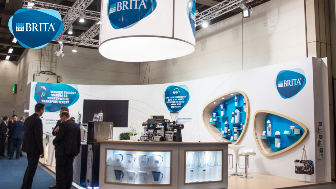 Messestand BRITA Internorga