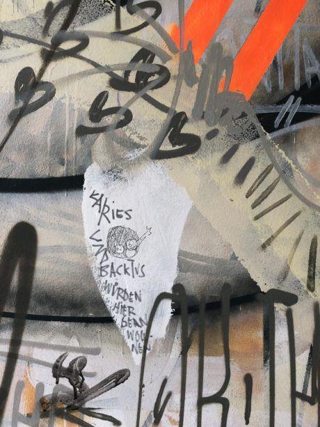 Grafitti bei Werbeagentur seitenwind Regensburg