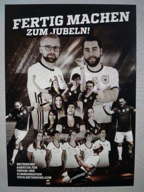 Plakat Team Werbeagentur seitenwind Regensburg