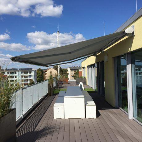 Dachterrasse der Werbeagentur seitenwind Regensburg