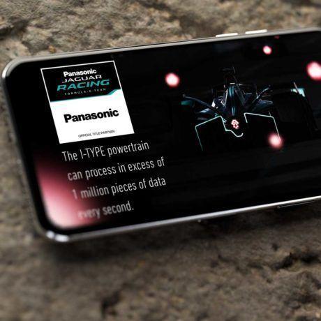 Panasonic Facebook-Anzeige