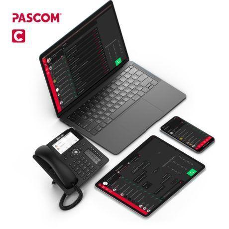 Pascom Client Oberfläche