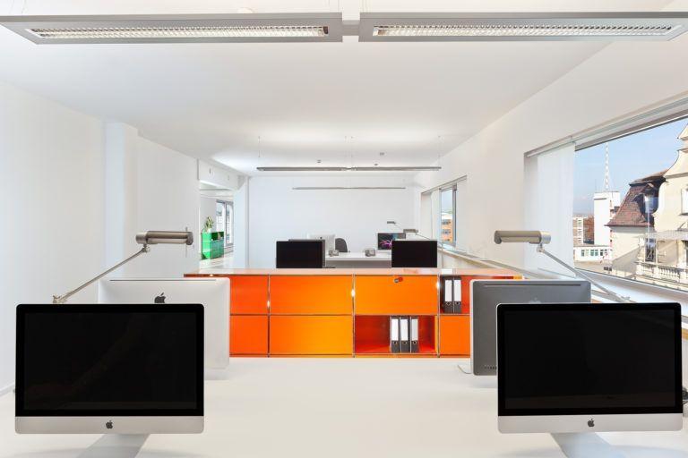 Arbeitsplatz Werbeagentur seitenwind Regensburg