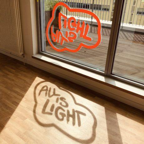 Fensterbeklebung bei Werbeagentur seitenwind