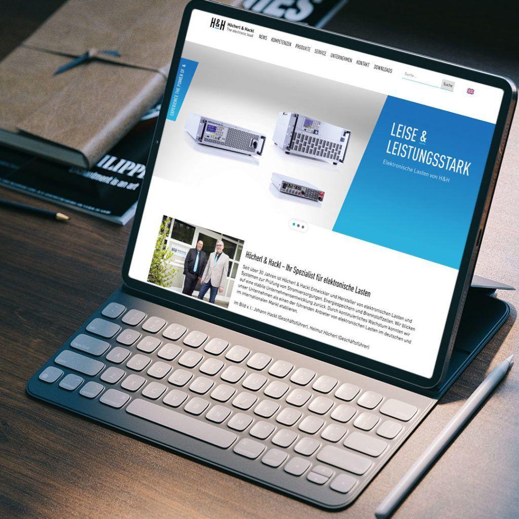referenz höcherl und hackl website