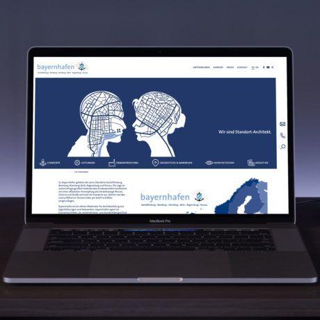 referenz bayernhafen website