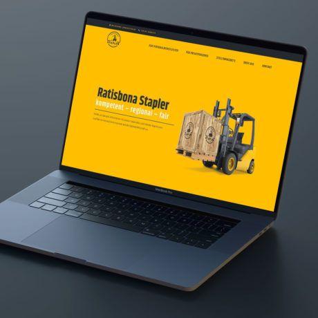 referenz ratisbona stapler website