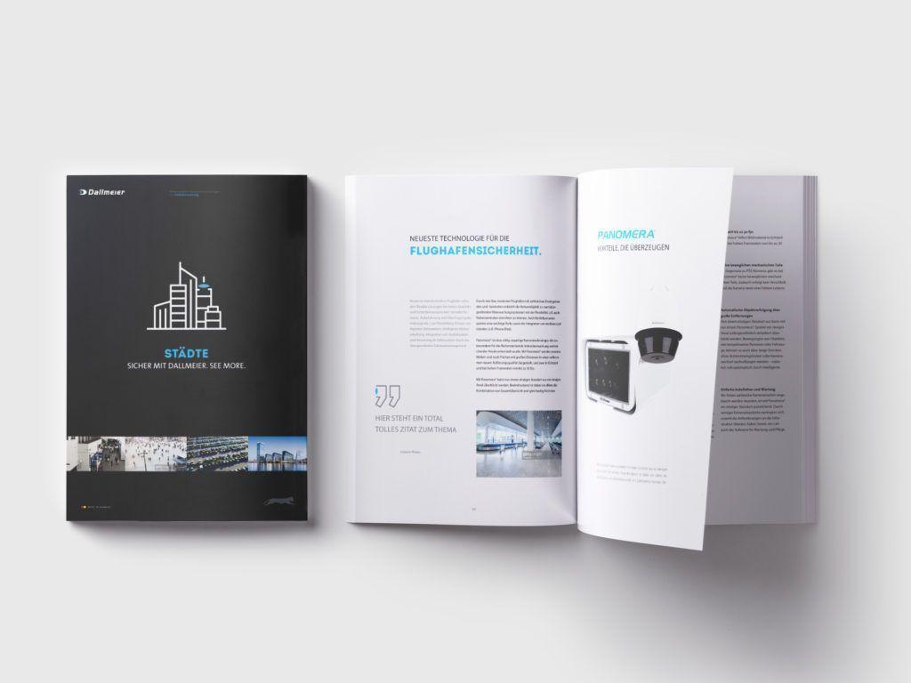 Dallmeier Broschüre Design