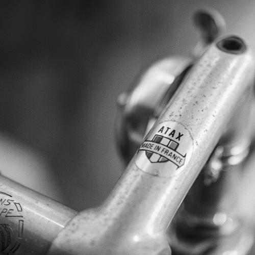 Fahrradlenker Detail